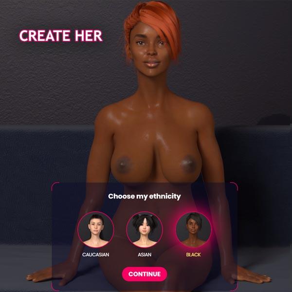 Negro Sexemulator Chica
