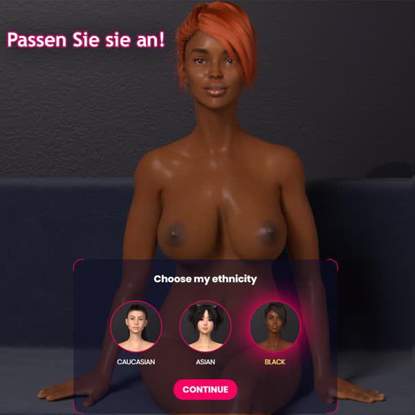 Schwarz vom SexEmulator 3D-SPIELE
