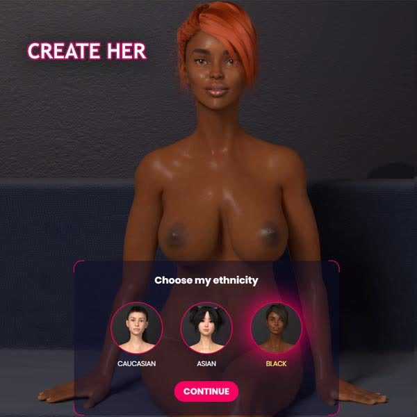 Black Sexemulator Girl
